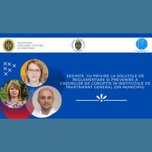 Ședința de lucru convocată de viceprimarul, Angela Cutasevici