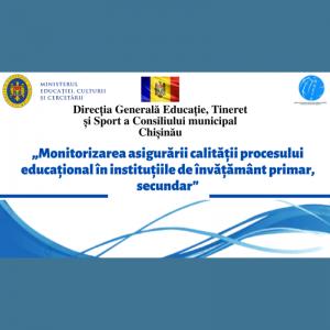 DGETS  a realizat un șir de vizite de monitorizare în instituțiile de educație din municipiul Chișinău în conextul pandemiei de COVID-19