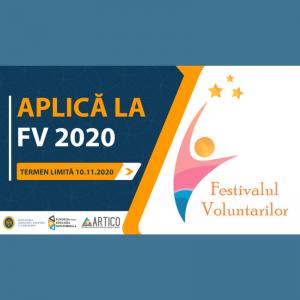 Aplică la Festivalul Voluntarilor 2020